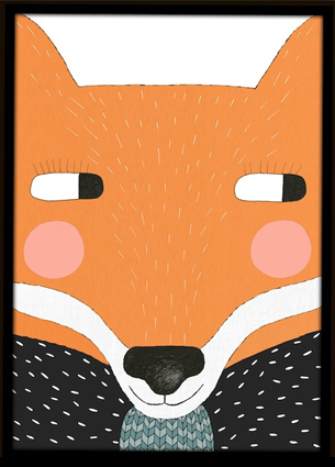 I love the prints of Kerry Layton, the face behind Seventy Tree. The poster Big Fox is high on my wishlist.