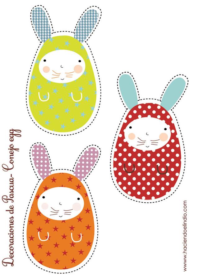 Easter rabbit freebie