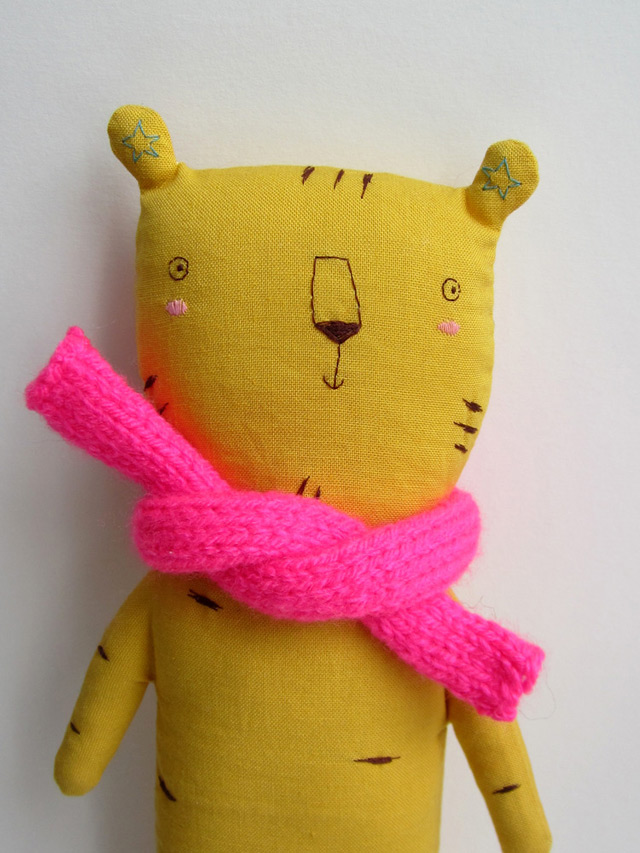 Soft toy Richard by Marina Rachner