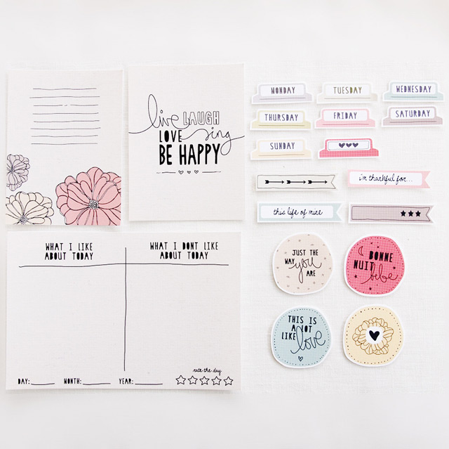 Cards & labels from Blinks of Life
