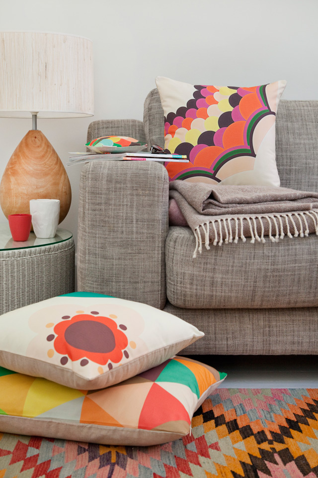 Blush cushion - Flush