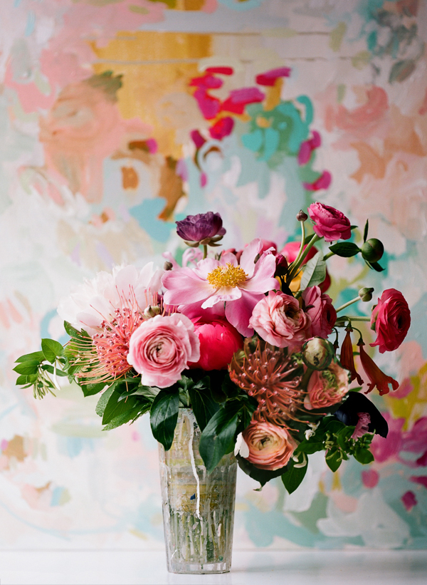 Home decorating ideas: Fresh flowers