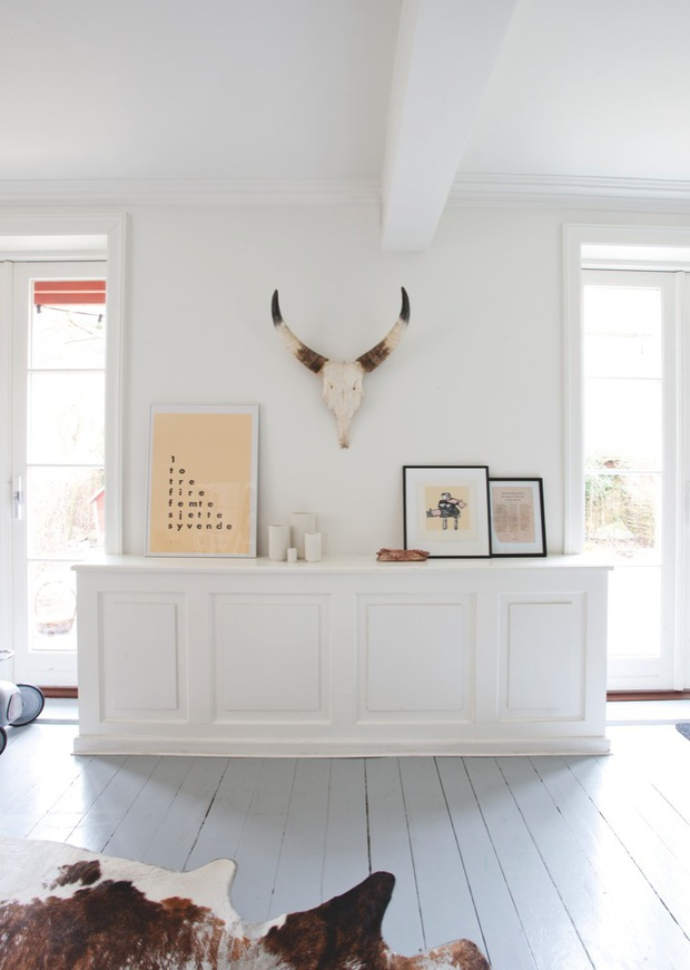 Home decorating ideas: Use that partition wall