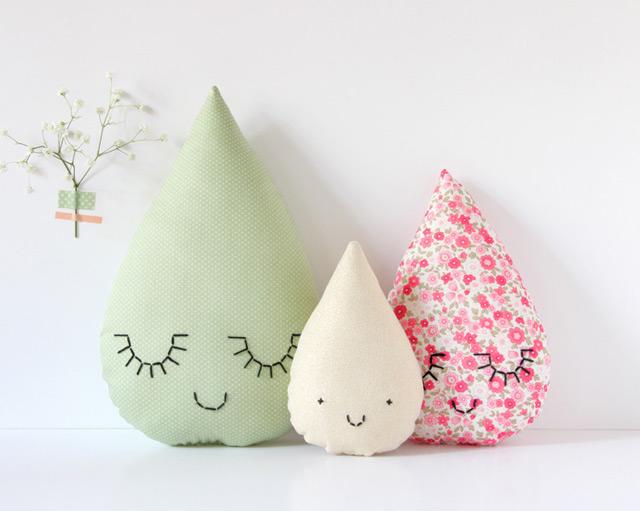 Cushion family hello spring by Zü