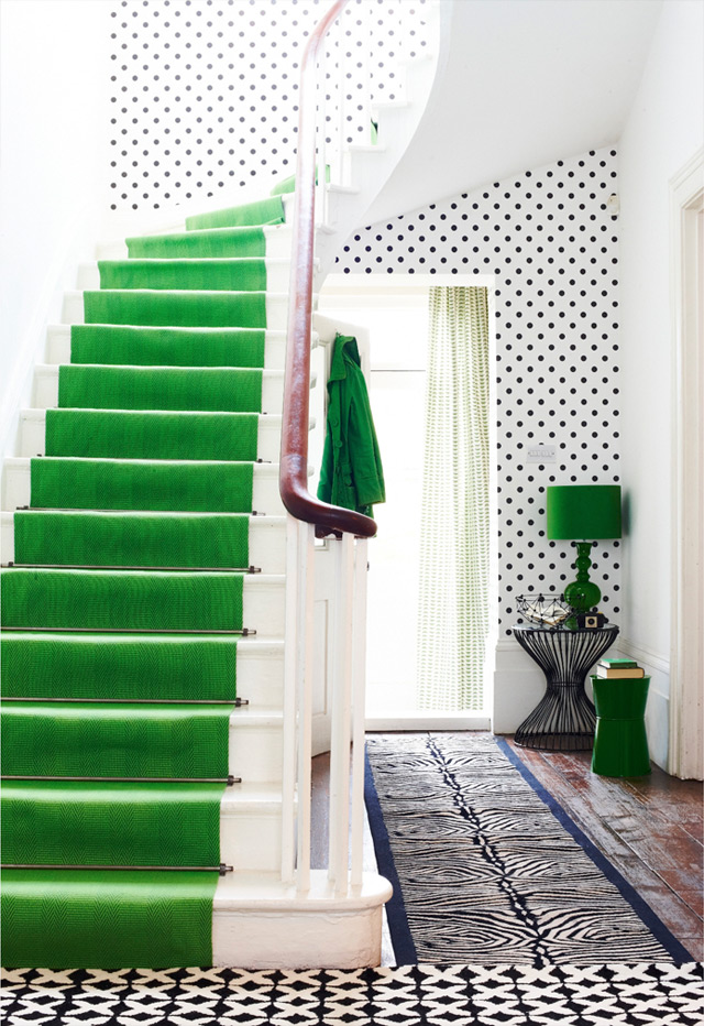 Home decorating ideas: Stairs with the wow-effect