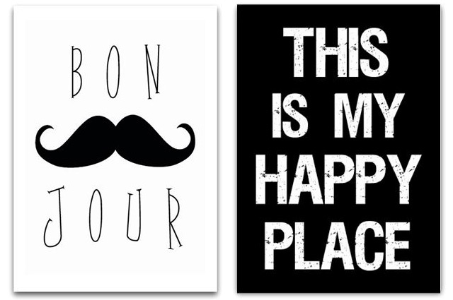 Bonjour & This is my happy place by Jots Lifestyle