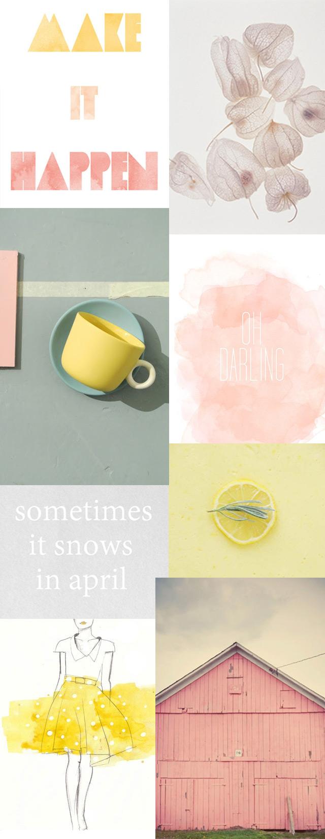 A little bit spring inspiration