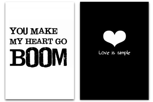 You make my heart go boom & Love is simple by Jots Lifestyle