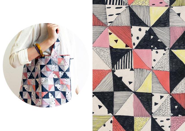 Blanket Tote Bag - Bonjour Supermarket