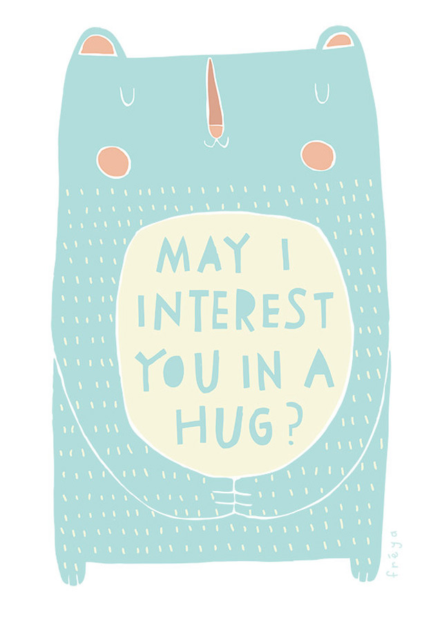 Greeting card by Freya Art & Design