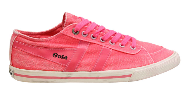 Gola stonewashed canvas sneakers