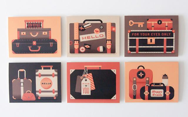 Luggage Card set
