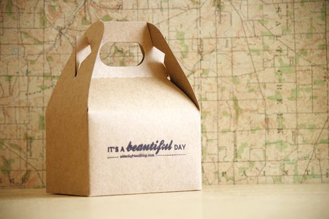 Kraft box by Oh hello friend