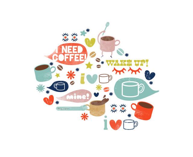 Print Caffeine Addict