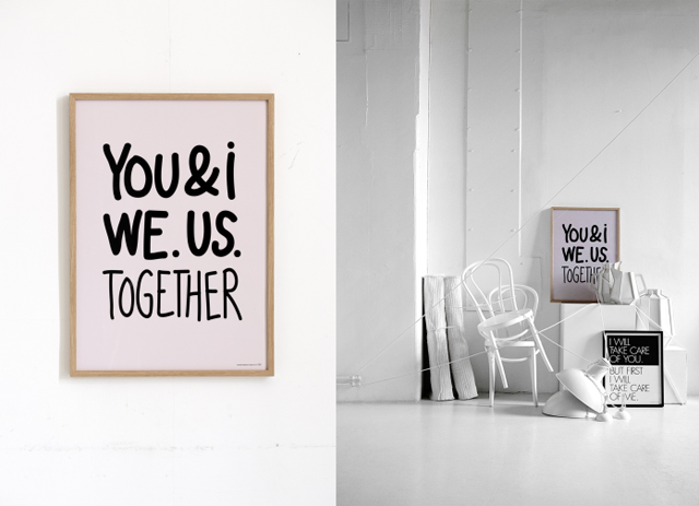 Print 'You and I' by Therese Sennerholt