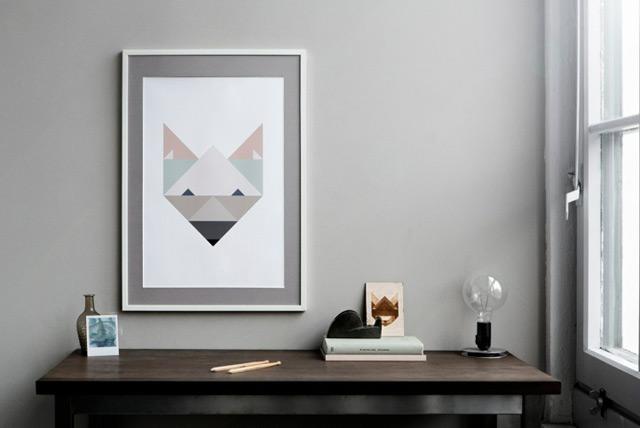 Illustration Fox by Silke Bonde