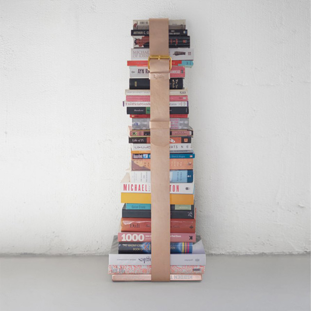 Assemblages book girth belt by Lightly