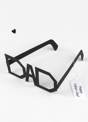 Next Sunday is Fathers Day! Have you decided on a gift yet? If you have to admit that you entirely forgot about Fathers Day, don't panic! I collected some last-minute ideas. From free dowloads to DIY's.