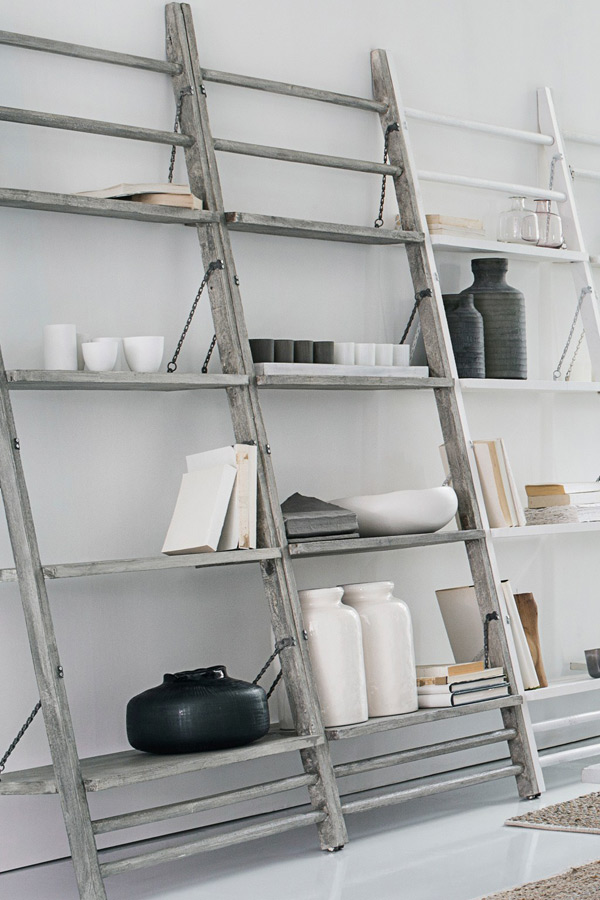 Leaning shelves by French Connection
