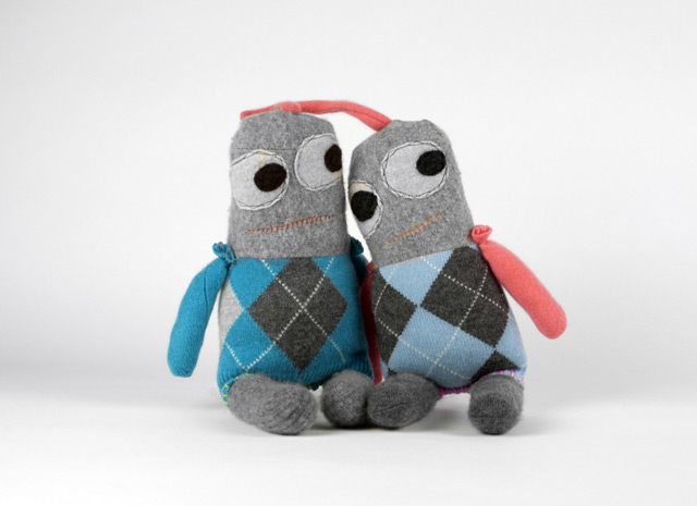 Argyle Mostrito by Snuggly Ugly (limited edition)