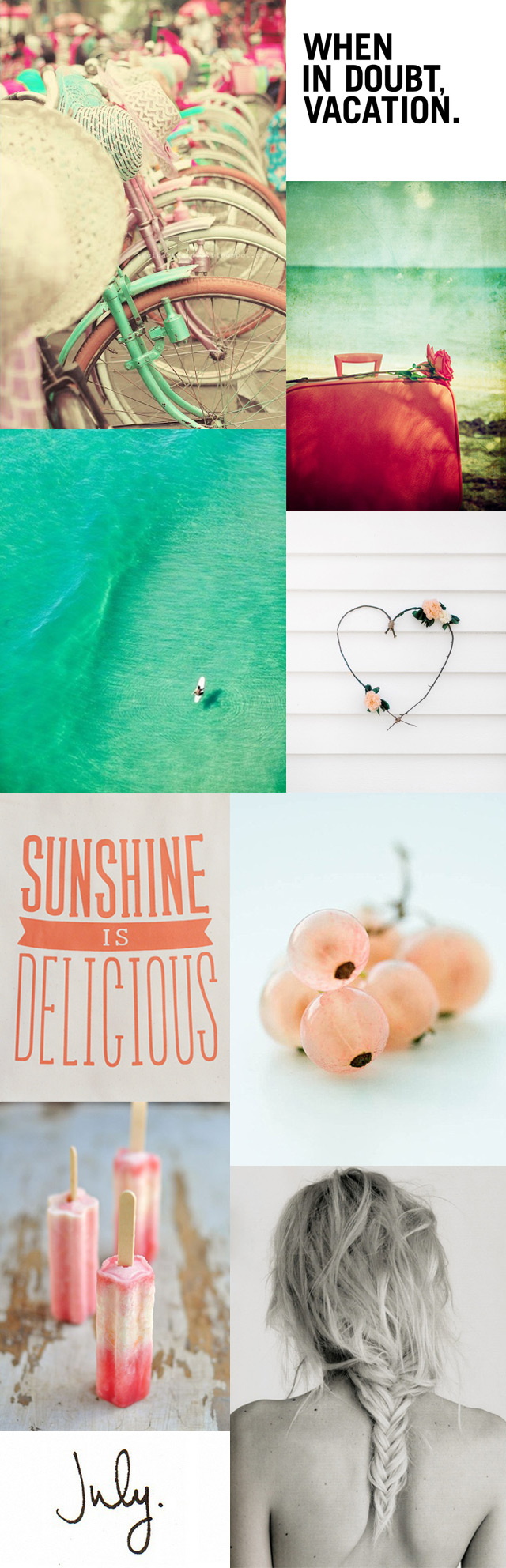 More sunny & lazy images