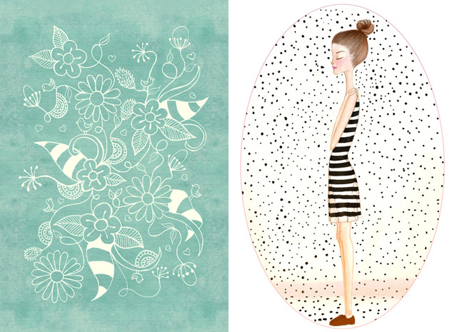Lovely prints by Renia on Society6