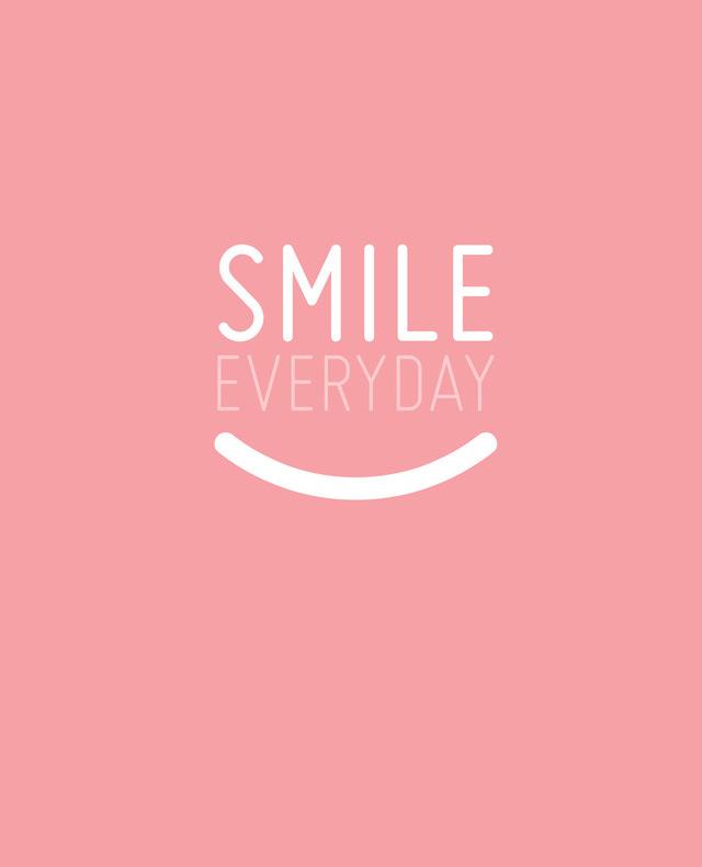 Art print Smile Everyday