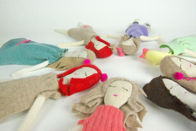 Rag dolls by Snuggly Ugly