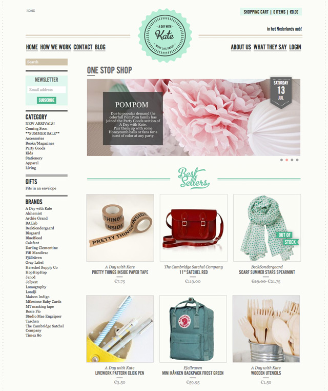Checkout this shop A Day With Kate