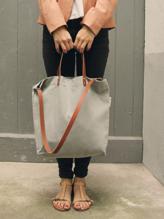 Bag ELIN (grey) by MINUK