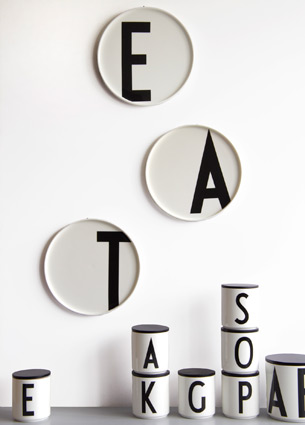You're probably familiar with Arne Jacobs' deco collection of white mugs from Design Letters - you know the ones with black letters on it. But what you might not know is that they also have some very cool other objects!