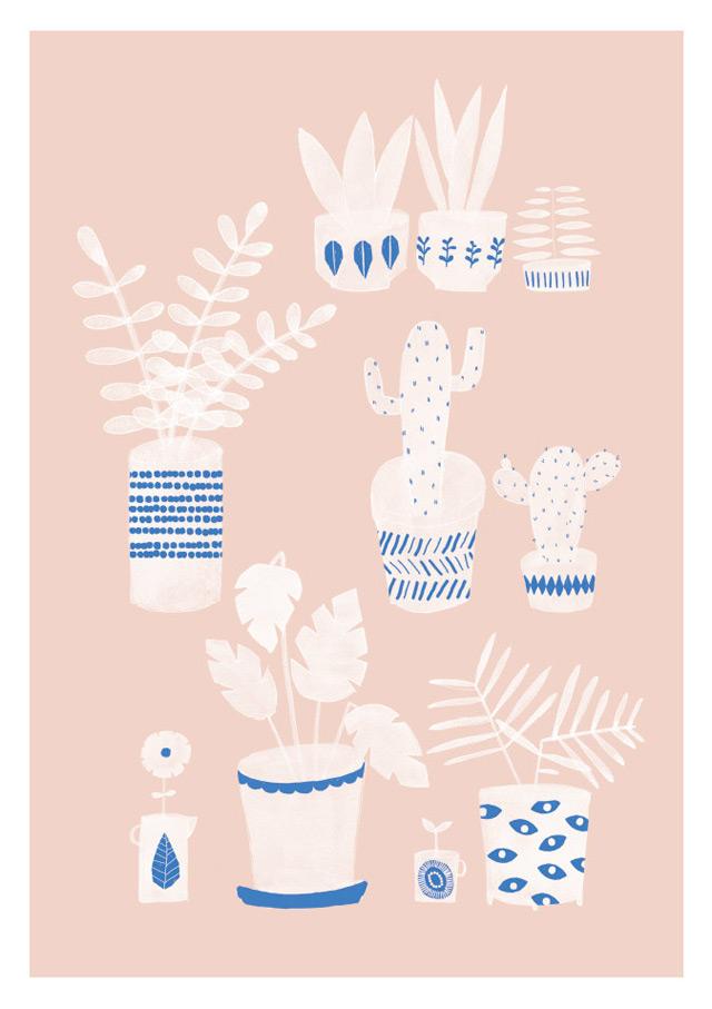 Print Pots & Plants by Studio Meez