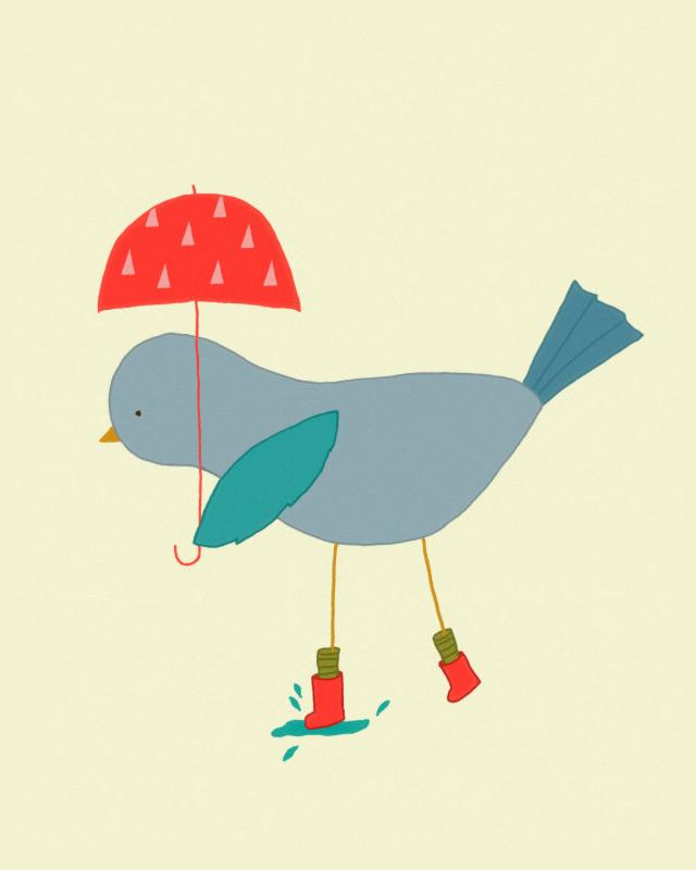 Print Studio Mela Rain, rain