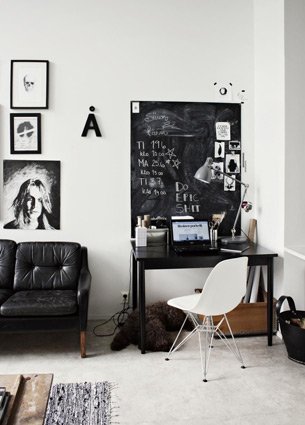 Some things I loved last week. Like this inspiring workspace, wise words and leather bangles!