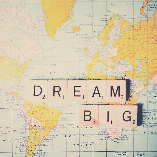 Print Dream big - Uncovet