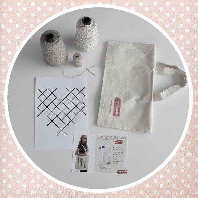Design competition: pimp up your DaWanda tote bag