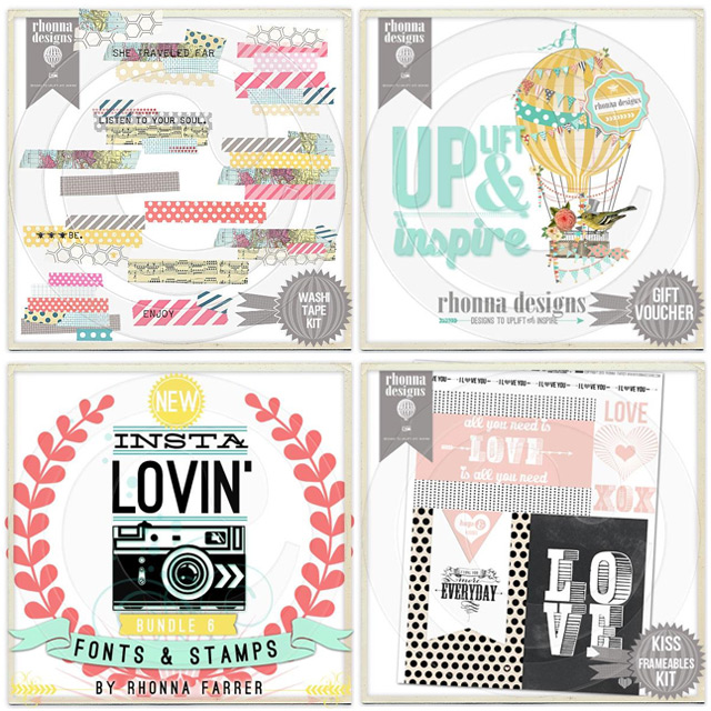 Digital kits, fonts and printables by Rhonna Designs