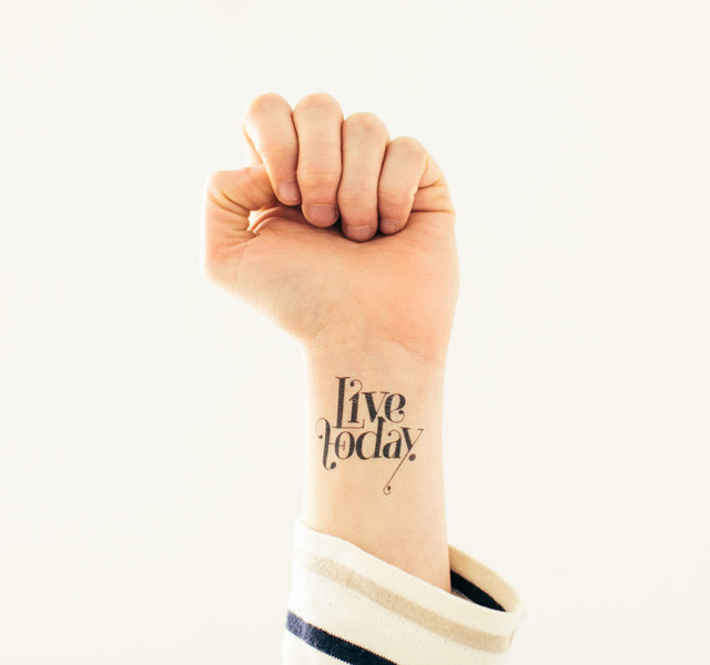 Tattoo Live Today by Tattly