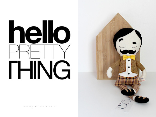 Print and doll by Sirlig