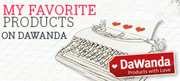 My favorite products on DaWanda