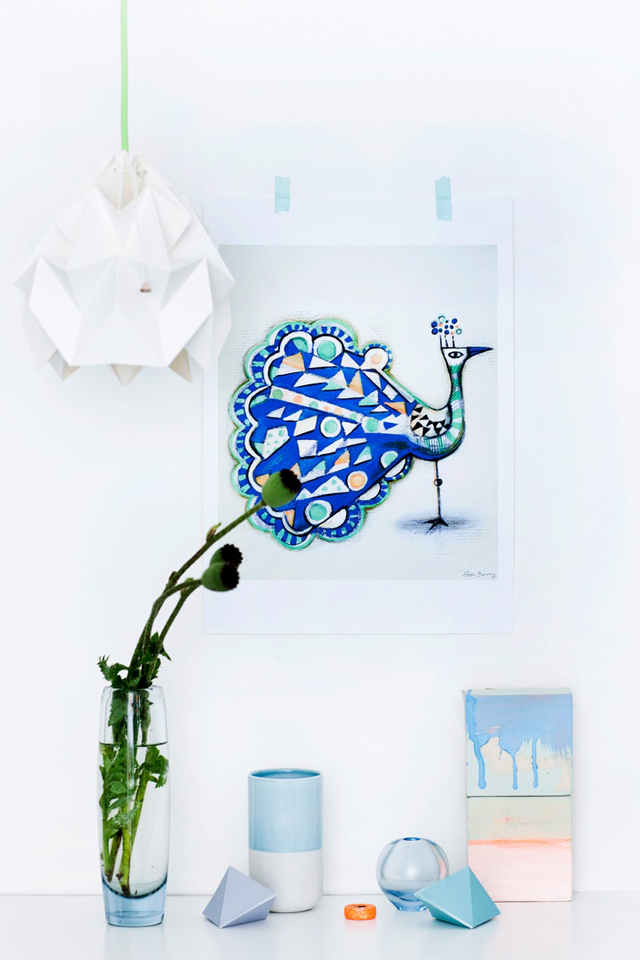 Moth Lamp by Studio Snowpuppe