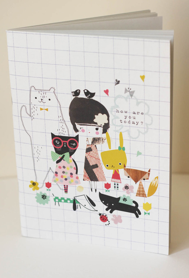 Notebook Forest Girl
