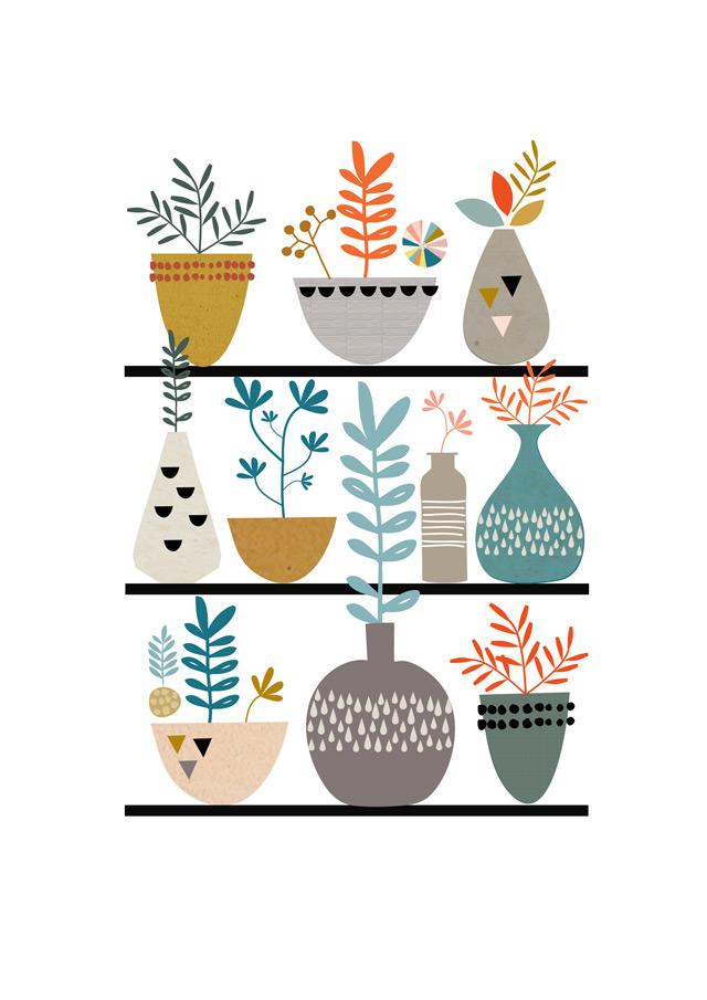 Print 2: Fauna & Succulents