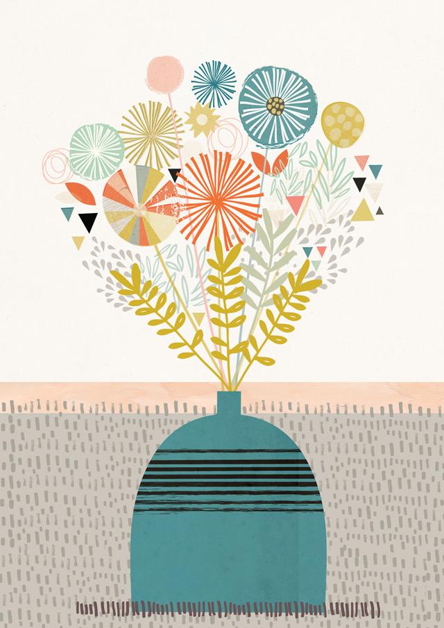 Print 3: Flora & Fauna