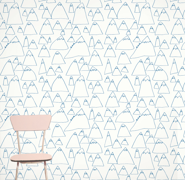 Mountains wallpaper by Fine Little Day