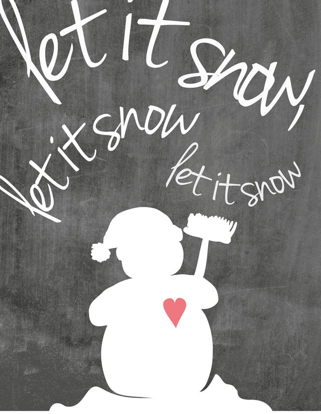 Print  Mr. Snowman - PrintCandy