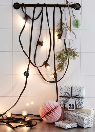 It's that time of the year! Need some X-Mas inspiration? Here are some things I loved last week. Like this amazing string lights from House Doctor!