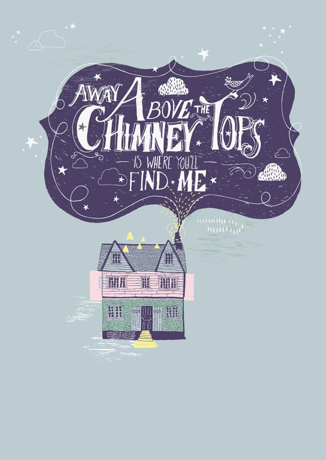 Poster Chimney tops