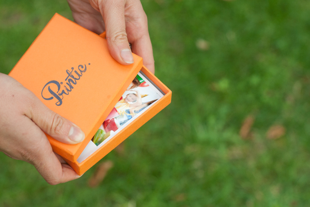 Printic box: a beautiful box with 50 polaroids