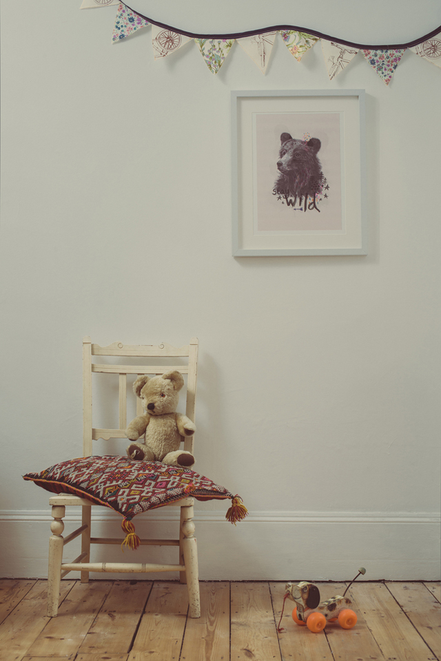 Poster Stay wild by Rosie Harbottle